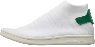 brand new ecb14 8b9cb adidas Stan Smith Shock Primeknit Trainers Footwear WhiteFootwear White Green