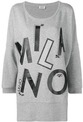 Liu Jo Maxi Chiusa sweater