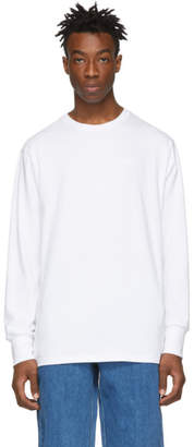 Leon Aime Dore White Logo Long Sleeve T-Shirt