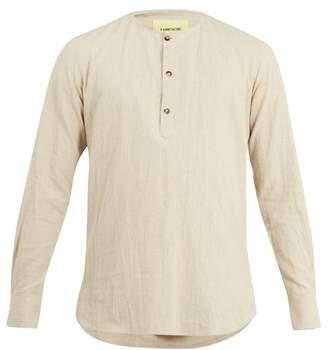 De Bonne Facture - Tunisian Linen Blend Shirt - Mens - Beige