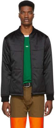 A.P.C. Black Ned Bomber Jacket
