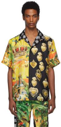 Dolce & Gabbana Multicolor Mix Hawaii Shirt