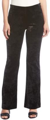 Karen Kane Avery Velvet Bootcut Pants