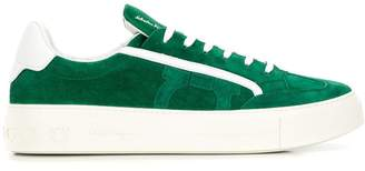 Salvatore Ferragamo flat low top trainers