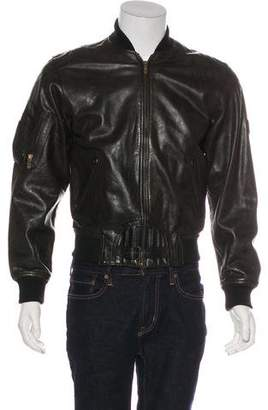 Belstaff Black Prince Leather Jacket