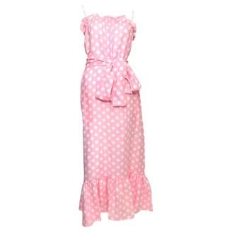 Lisa Marie Fernandez Pink Linen Dress for Women