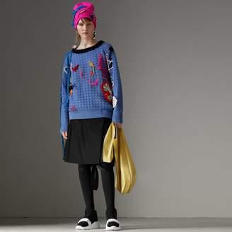 Burberry Wool Twill Kilt