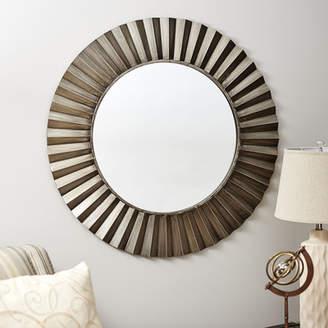 Willa Arlo Interiors Sunburst Round Wall Mirror