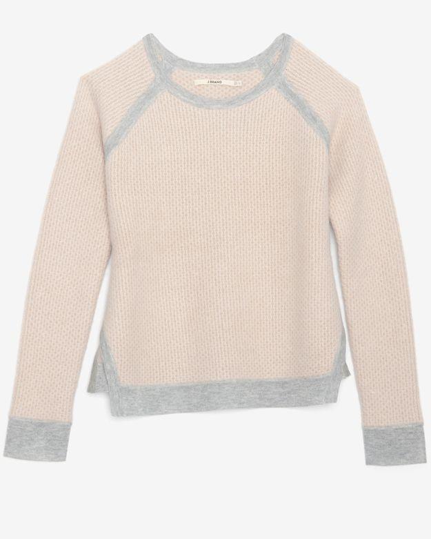 J Brand Ready-to-wear Honeycomb Weave Knit Sweater
