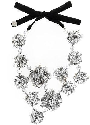 embellished oversized necklace