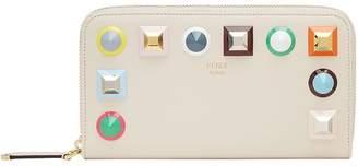 Fendi geometric stud wallet