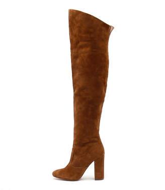 Siren Pippin Tan Boots Womens Shoes Dress Long Boots