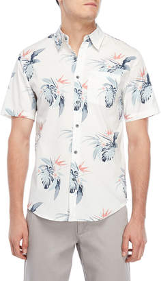 Ocean Current Pivotal Floral Short Sleeve Shirt