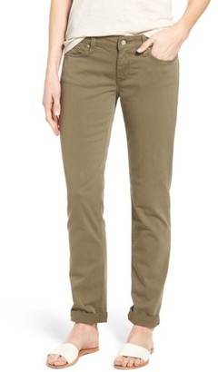 Women's Mavi Jeans Emma Slim Boyfriend Stretch Twill Pants $98 thestylecure.com