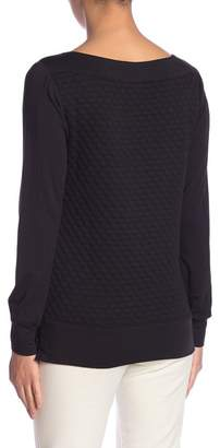 Tart Annette Quilted Long Sleeve Top