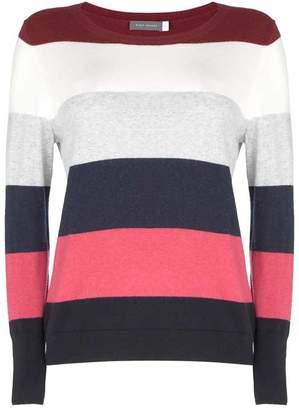 Mint Velvet Striped Colour Blocked Knit