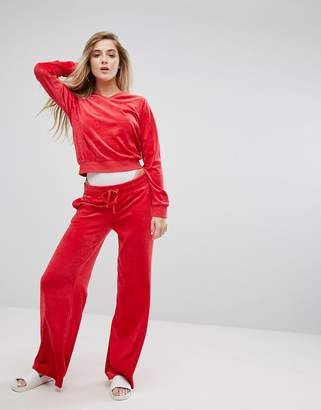 Juicy Couture Wide Leg Trackpant