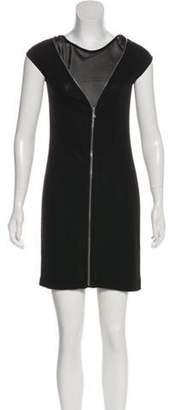 Alexander Wang Cap Sleeve Mini Dress Black Cap Sleeve Mini Dress