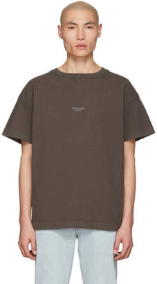 Acne Studios SSENSE Exclusive Grey Jaxon T-Shirt