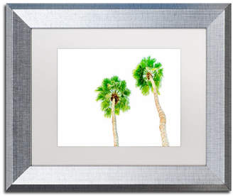 "Ariane Moshayedi 'Palms 5' Matted Framed Art - 11"" x 14"""