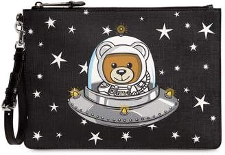 Moschino Medium Teddy Ufo Pouch