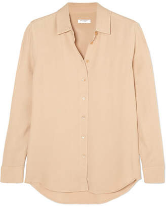 Equipment Essential Crepe Shirt - Beige