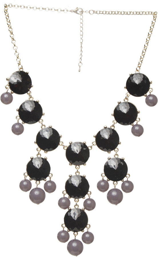 Arden B 2 Tone Oversized Bubble Necklace