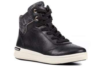 Geox Cave Up Girl High Top Sneaker