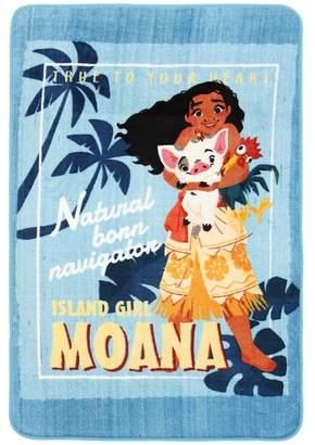 Moana Island Girl Kids' Rug