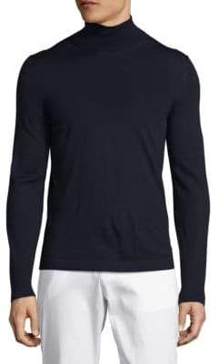 Pal Zileri Solid Turtleneck Pullover