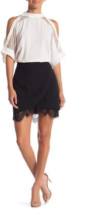 Sugar Lips Sugarlips Freemont Ruffle Scalloped Skirt