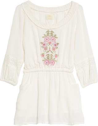 O'Neill Malina Floral Embroidered Dress
