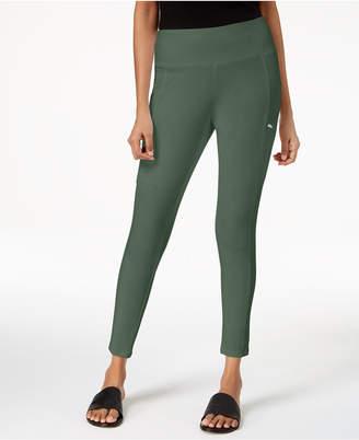 Eileen Fisher Organic Cotton Seamed Pull-On Skinny Pants, Regular & Petite
