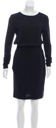 Helmut Lang Wool Sheath Dress