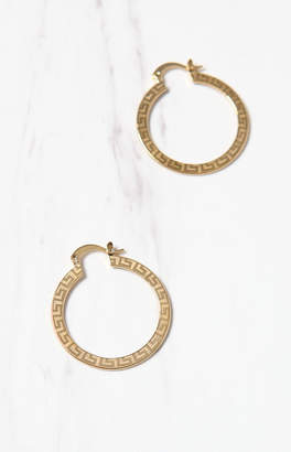 Frasier Sterling Mykonos Hoop Earrings