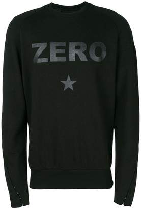 Tom Rebl Zero slogan sweatshirt