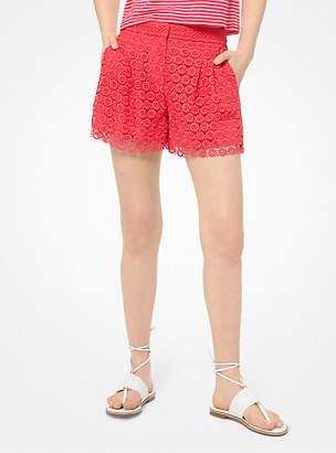 Michael Kors Medallion Lace Shorts