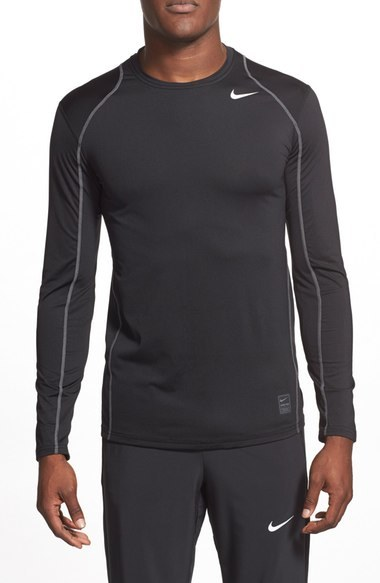 Nike 'Pro Cool Compression' Fitted Long Sleeve Dri-FIT T-Shirt