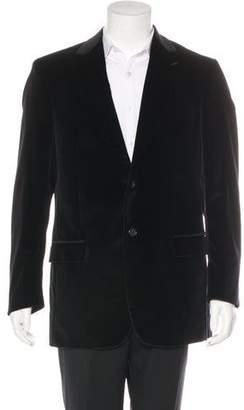Michael Kors Velvet Two-Button Blazer