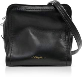 3.1 Phillip Lim Black Leather Hudson Mini Square Crossbody Bag
