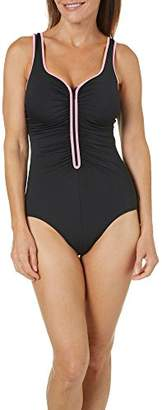 Reebok Women's U-Neck One Piece Swimsuit