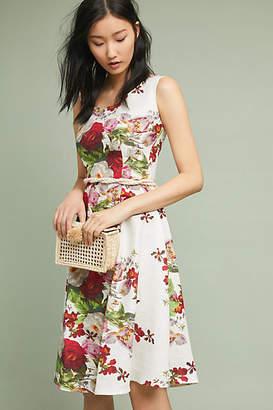 Eva Franco Linen Garden Dress