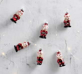 Pottery Barn Mercury Mini Elf Ornament Set