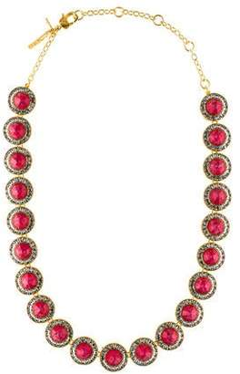 Lele Sadoughi CrystalLele Sadoughi Crystal Token Necklace Token Necklace