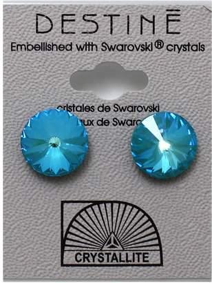 Crystallite Destine Earring Laguna Rivoli 12mm