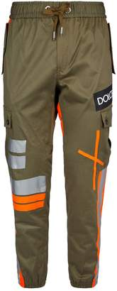 Dolce & Gabbana Tape Detail Cargo Trousers