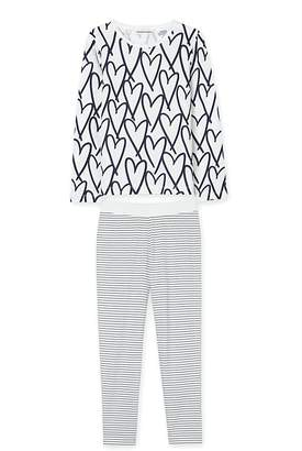 Country Road Heart Stripe Pyjama