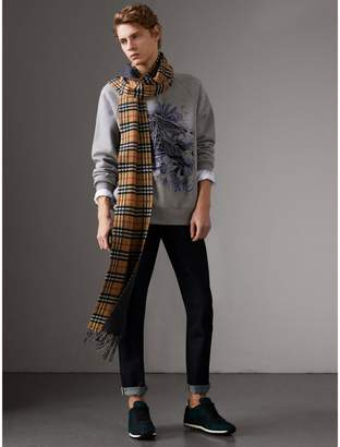 Burberry Doodle and Equestrian Knight Print Sweatshirt