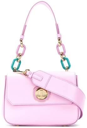Salvatore Ferragamo chain embellished shoulder bag