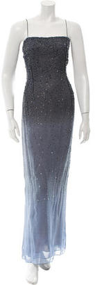 Vera Wang Embellished Sleeveless Gown $195 thestylecure.com